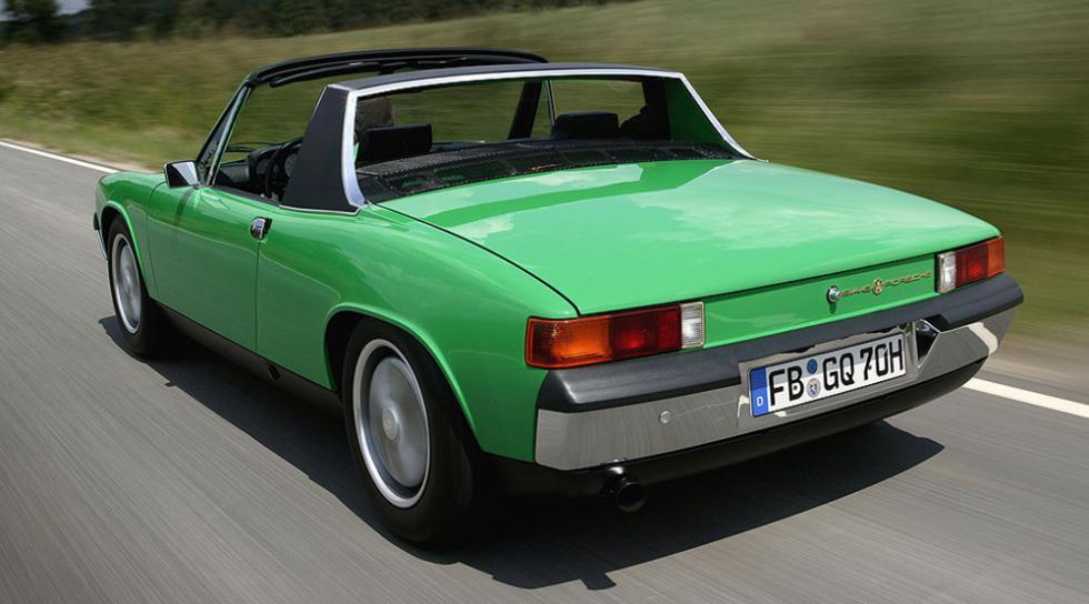 Porsche 914 - 1970-1976 - 15.000 euros