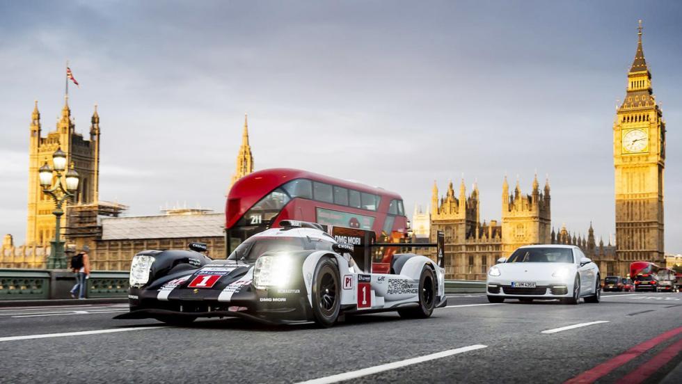 Un Porsche 919 Hybrid de paseo por Londres... con Mark Webber