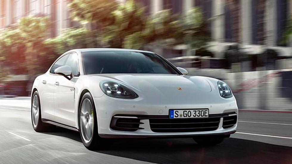 Porsche Panamera 4 E-Hybrid 2017 (V)