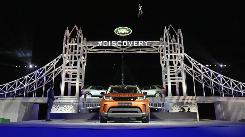 Presentación Land Rover Discovery 2017 (I)