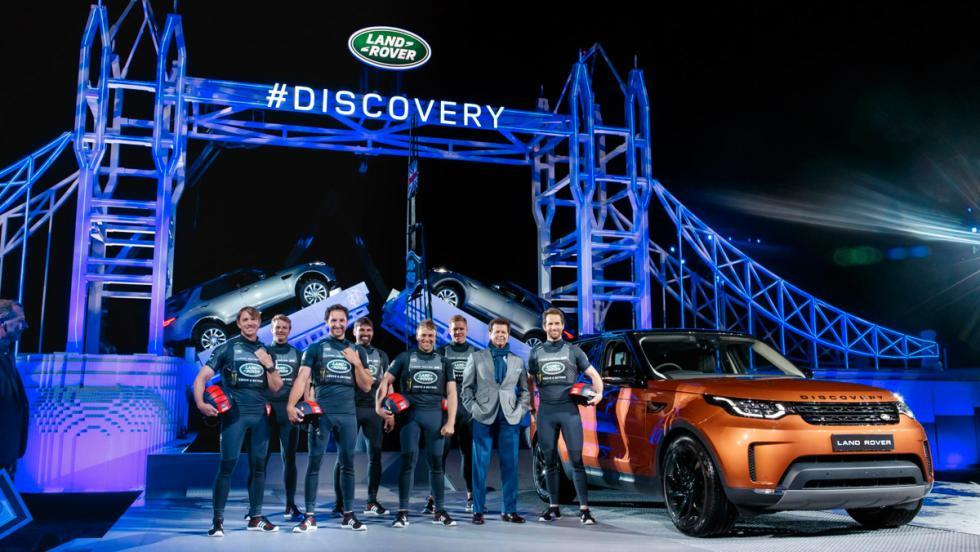 Presentación Land Rover Discovery 2017 (V)