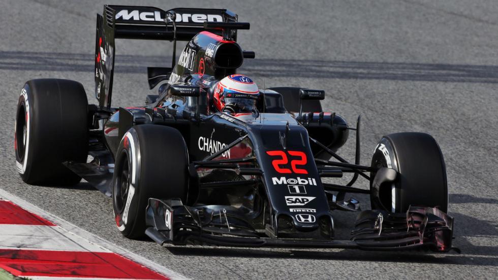 Probablemente, el MP4-31 será el último monoplaza que el inglés conduzca en la F1