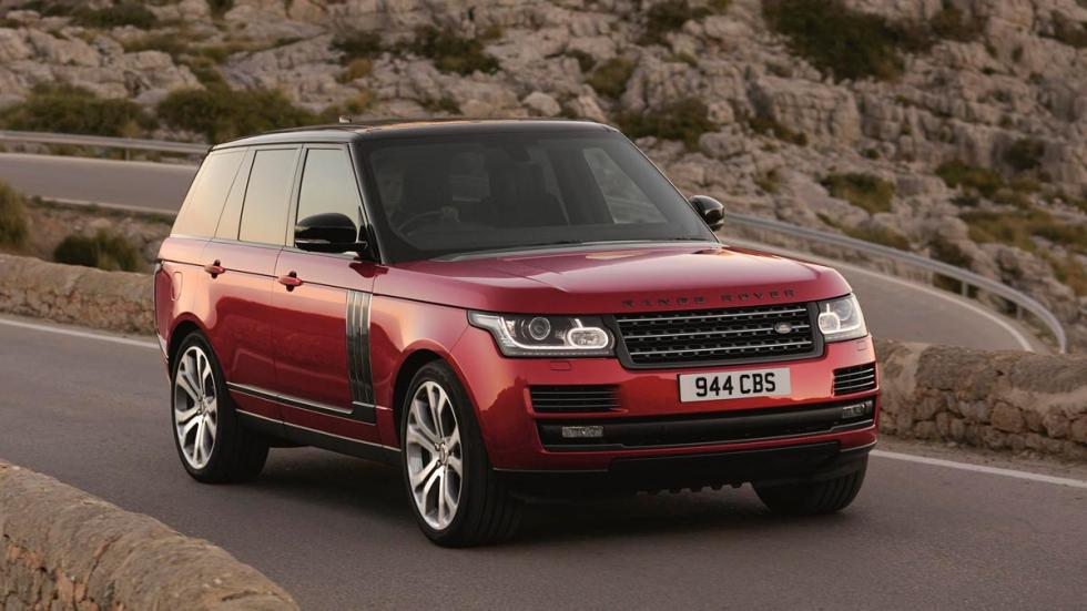 Range Rover SVAutobiography Dynamic V8 deportivo 550 potencia SUV lujo