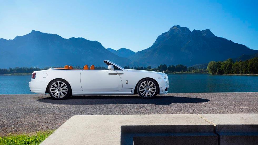 Rolls-Royce Dawn Spofec lujo descapotable blanco preparaciones Novitec rapidos capota superlujo