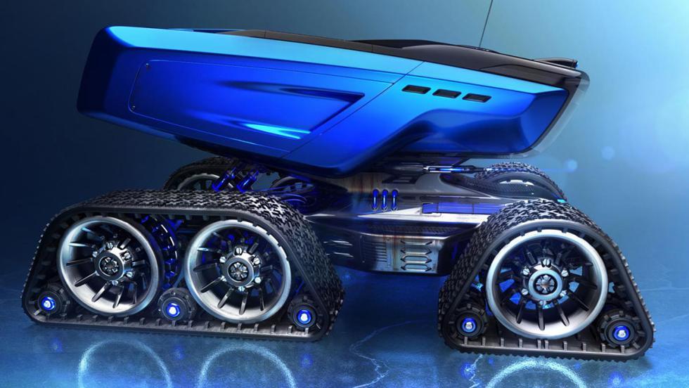 The Rümker: para conquistar el espacio... ¡sobre ruedas!