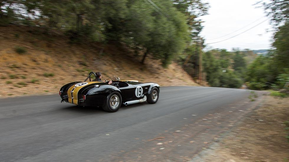 Shelby Cobra 427 Competition trasera dinamica deportivo radical lujo carretera