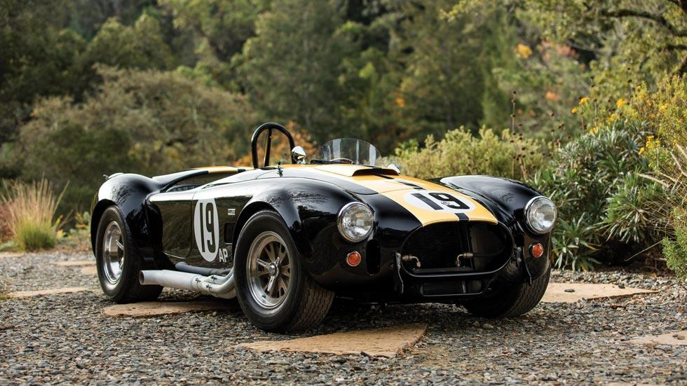Shelby Cobra 427 Competition lujo deportivo radical negro dorado subasta