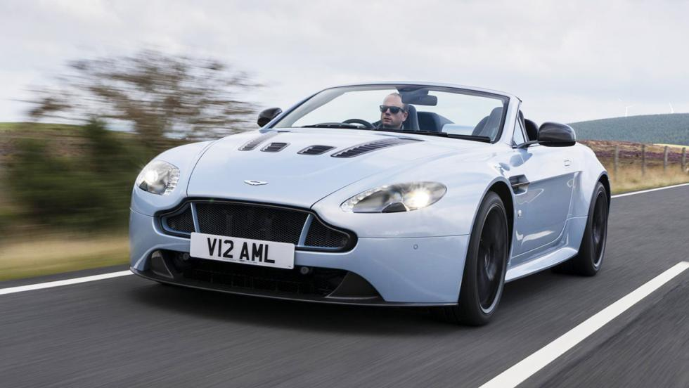 Velocidad punta - Aston Martin V12 Vantage Volante