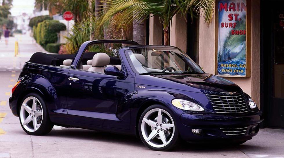 10 cabrios para todos los bolsillos - Chrysler PT Cruiser - 7.000 euros
