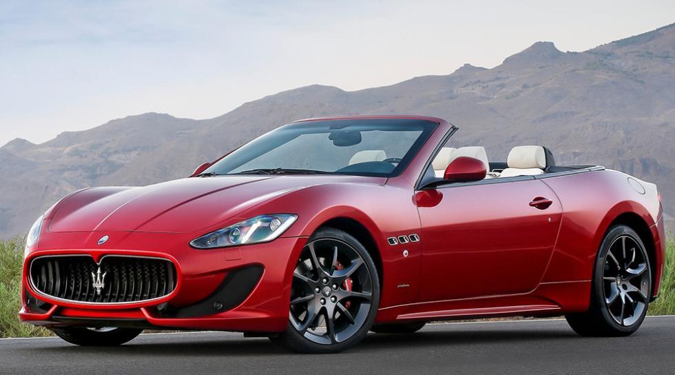 10 cabrios para todos los bolsillos - Maserati GranCabrio - 158.000 euros