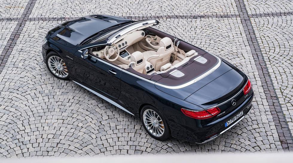 10 cabrios para todos los bolsillos - Mercedes-AMG SL 65 Roadster - 288.000 euros