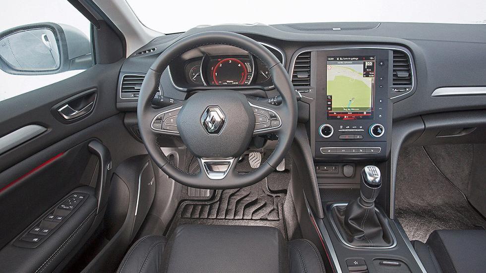 Prueba: nuevo Renault Mégane 2016 interior volante