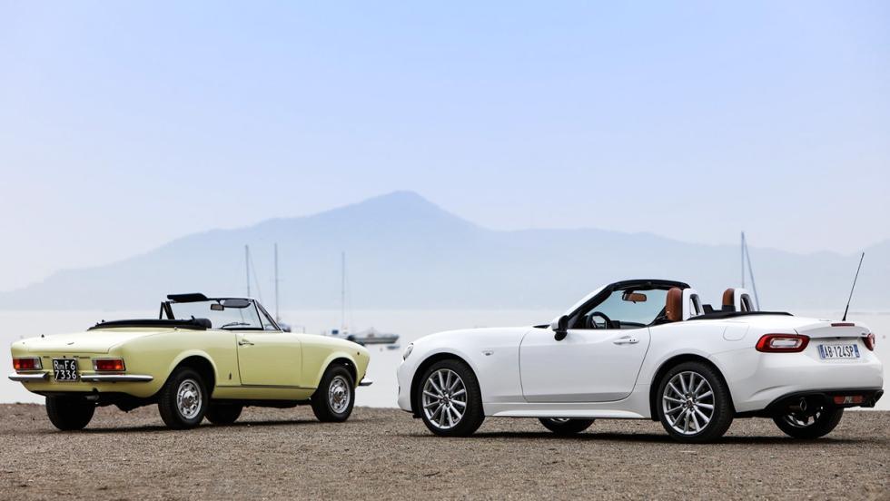 7 diferencias entre el Fiat 124 Spider y el Mazda MX-5 - Estilo