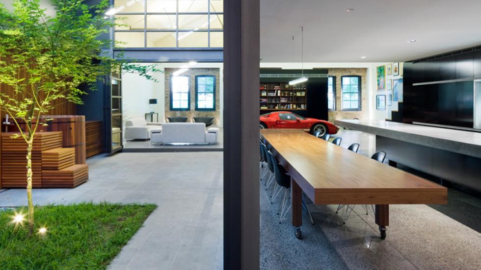 casas-ensueño-garaje-salón-australia