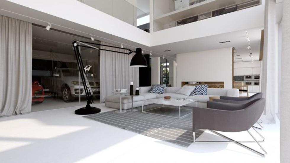 casas-ensueño-garaje-salón-moldavia