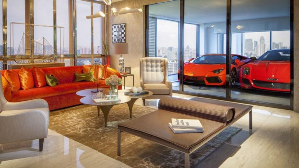 casas-ensueño-garaje-salón-singapur