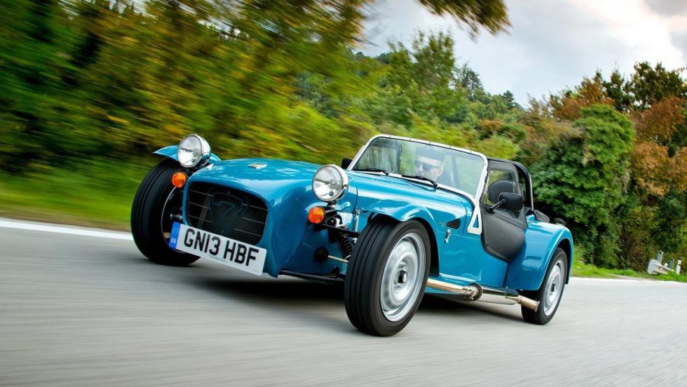 7 buenos coches que nadie quiere comprar - Caterham Seven 160