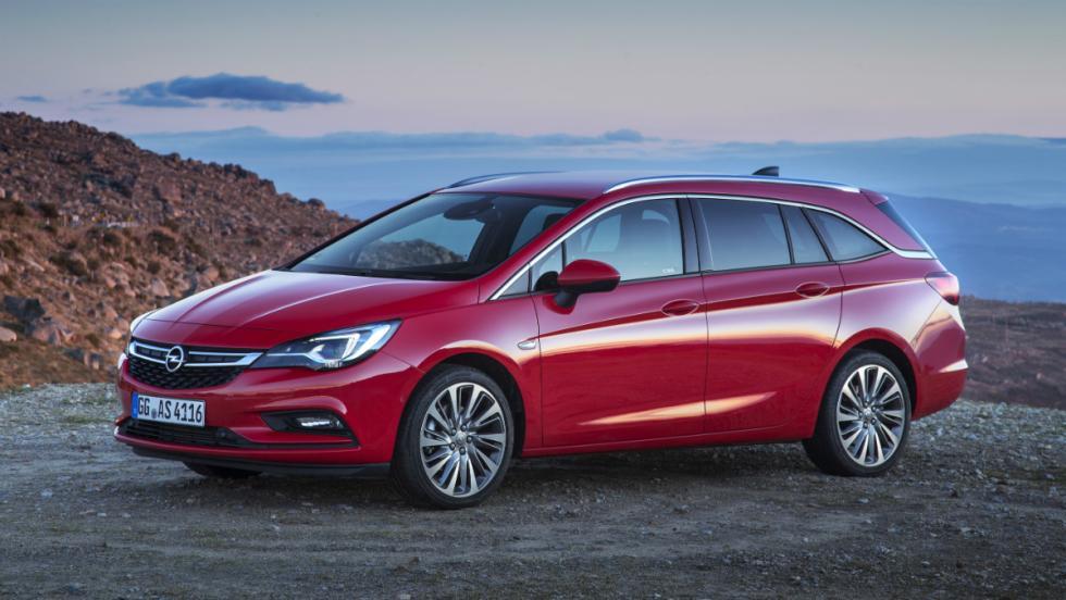 9 - Opel Astra Sports Tourer
