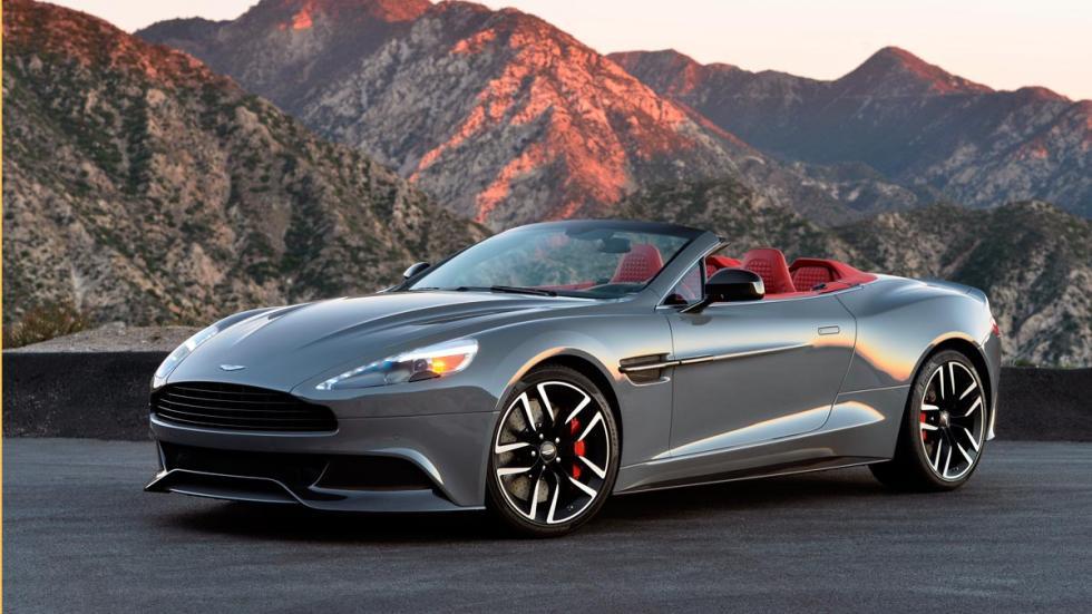 Aston Martin Vanquish Volante deportivo lujo superdeportivo descapotable inglés