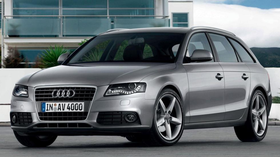 Audi A4 Avant 2012 B7 gris familiar