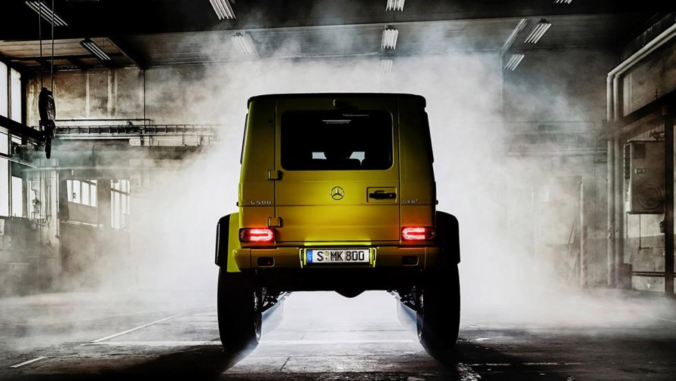 Bajar un puerto de montaña sin miedo - Mercedes-Benz G500 4x4 al cuadrado
