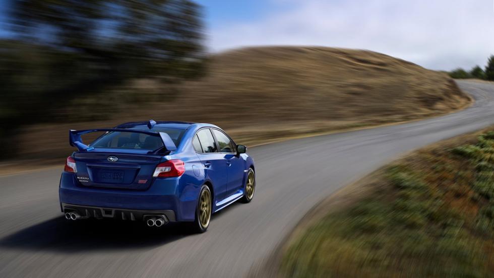Bajar un puerto de montaña sin miedo - Subaru WRX STI