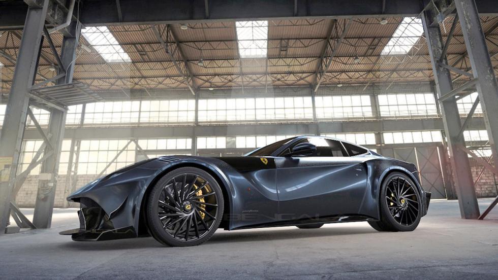 Bengala F12 Caballería: el Ferrari F12berlinetta de fibra de carbono