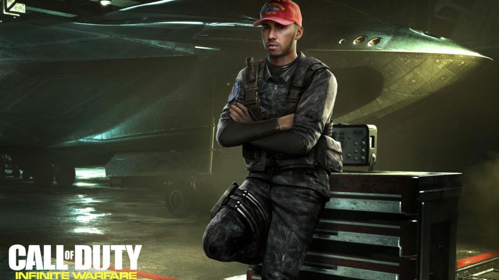 Call of Duty Lewis Hamilton