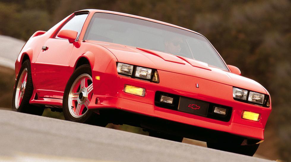 Chevrolet Camaro - 3ª Generación - 1982-1992