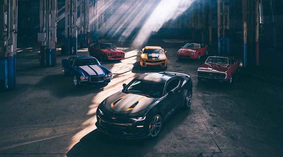 El Chevrolet Camaro cumple 50 años... ¡aquí tienes todas sus generaciones!