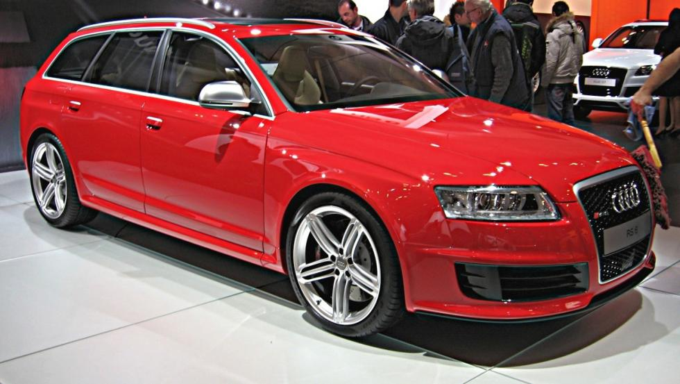 Los coches de Jenson Button: Audi RS6 Avant