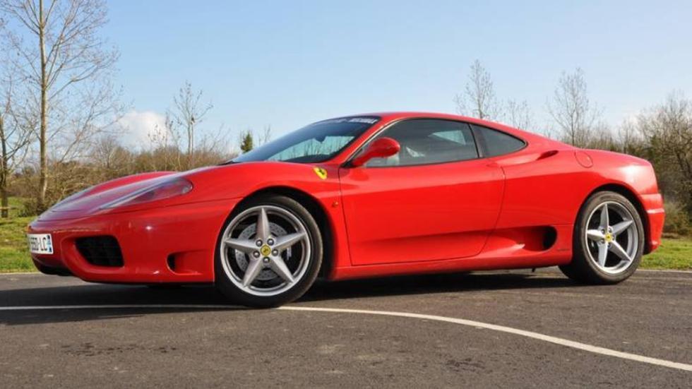 Los coches de Jenson Button: Ferrari 360 Módena