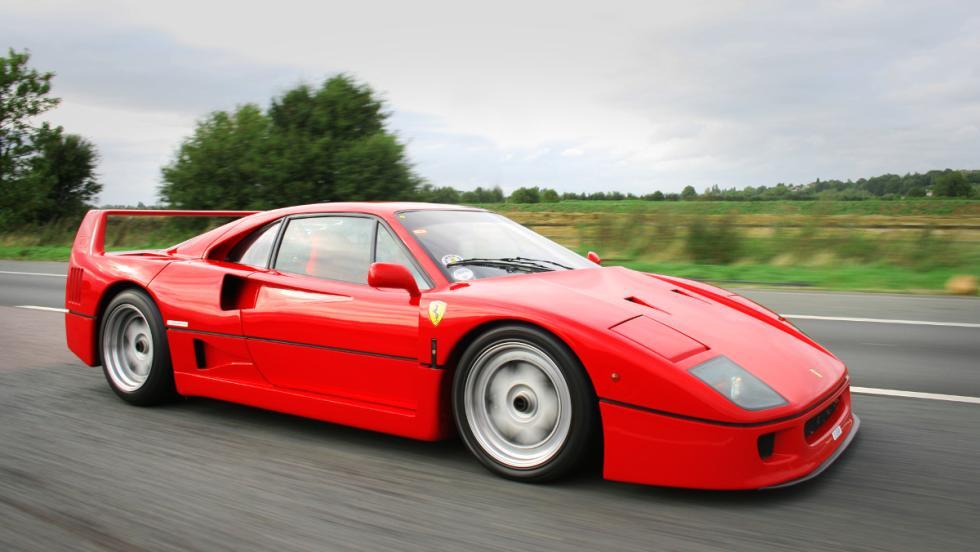 Los coches de Jenson Button: Ferrari F40