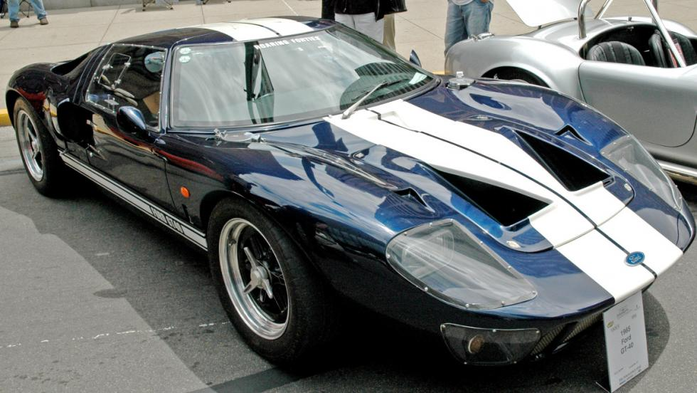 Los coches de Jenson Button: Ford GT40