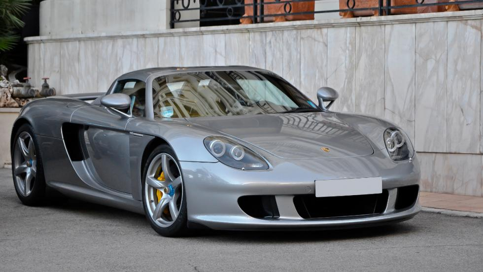 Los coches de Jenson Button: Porsche Carrera GT