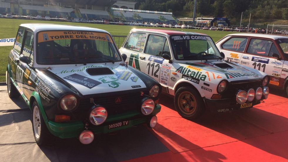 Coches Rallylegend 2016: A112 Abarth (1982 y 1979)