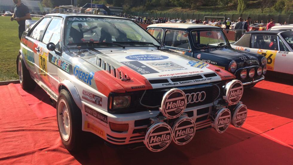 Coches del Rallylegend 2016: Audi Quattro (1983)