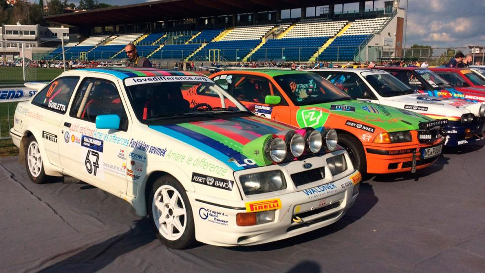 Coches del Rallylegend 2016: Ford Sierra Cosworth (1988)