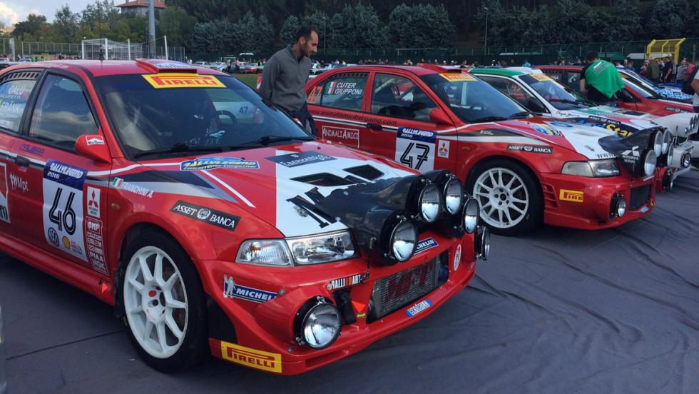 Coches Rallylegend 2016: Mitsubishi Lancer Evo VI (2000)