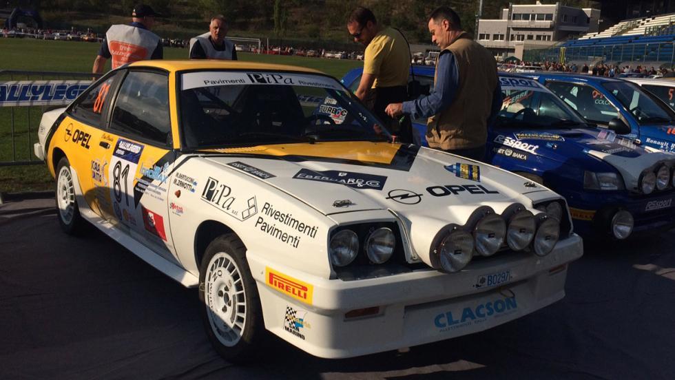 Coches Rallylegend 2016: Opel Manta GTE (1984)
