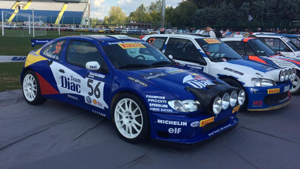 Coches Rallylegend 2016: Renault Mégane Kit Car (1997)