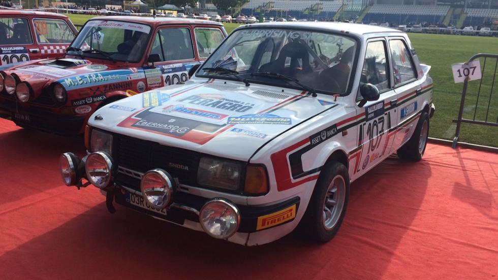 Coches del Rallylegend 2016: Skoda 130 LR (1985)
