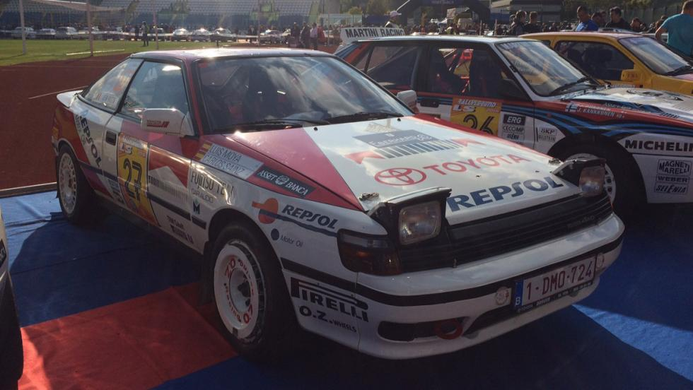 Coches del Rallylegend 2016: Toyota Celica ST 165 (1988)