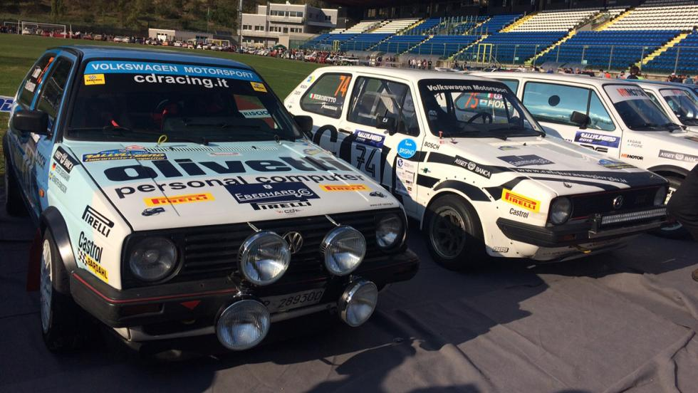 Coches Rallylegend 2016: VW Gof GTI