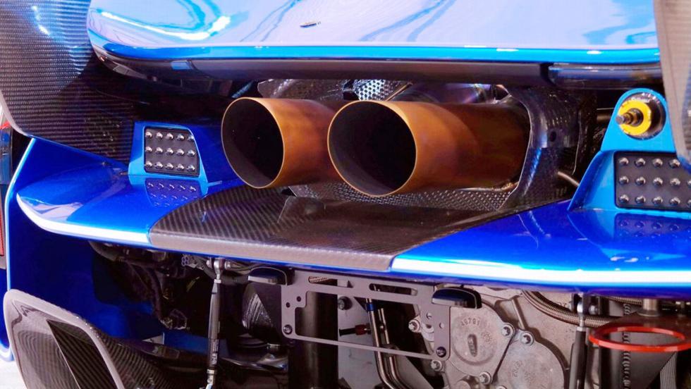5 razones por las que necesitas este McLaren P1 LM - Está nuevecito