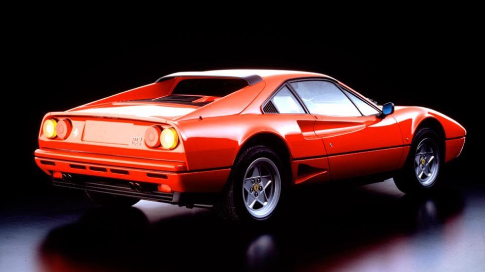 Ferrari 328 GTB Turbo motor sobralimentado V8 deportivo italiano clasico