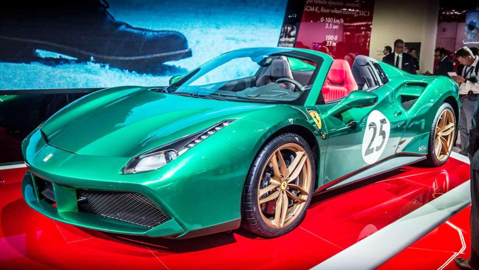 Ferrari 488 Green Jewel