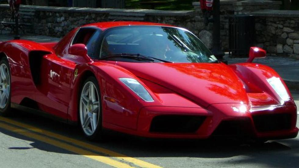 Ferrari Enzo, uno de los coches de Jenson Button