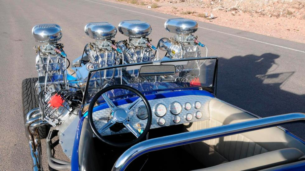 Ford Model T dos motores V8 preparacion tuning extrema eeuu america estados unidos doble cuatro turbos