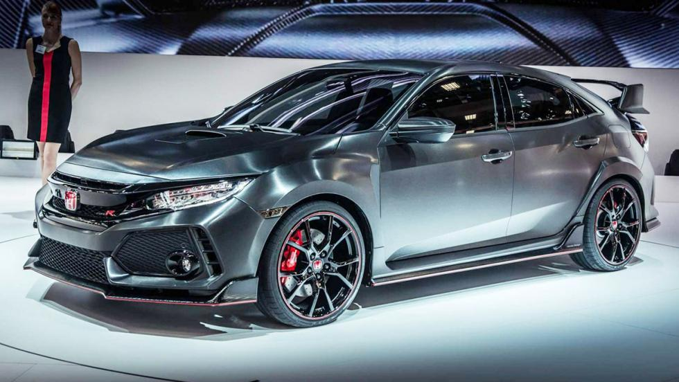 Honda Civic Type R Prototype 2017